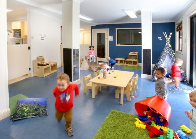 Indoor/outdoor play area