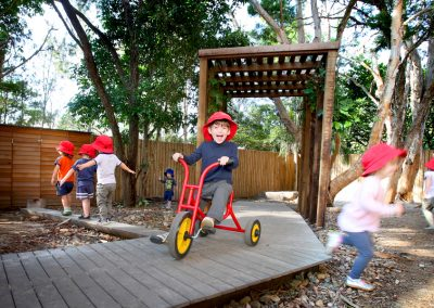Adeona Mitchelton outdoor play