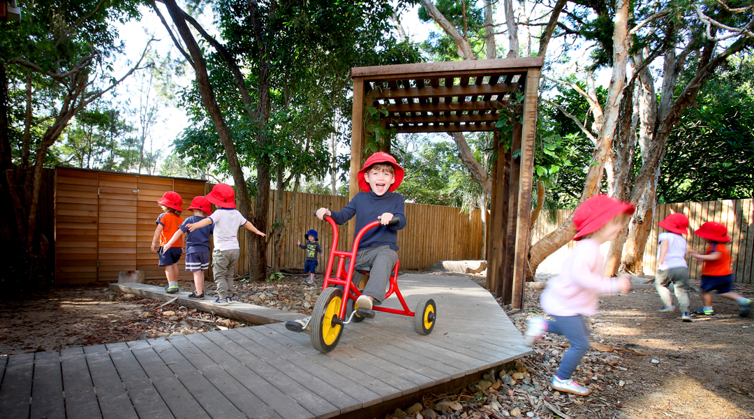 freedom of movement in childhood developent at adeona childcare centres in QLD