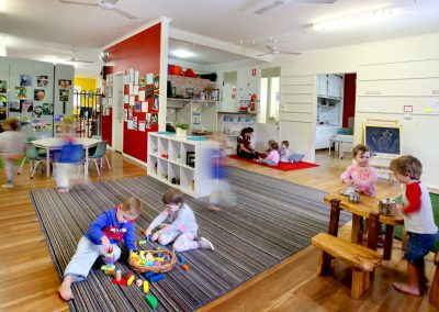 Indoor playtime at Adeona Noosaville